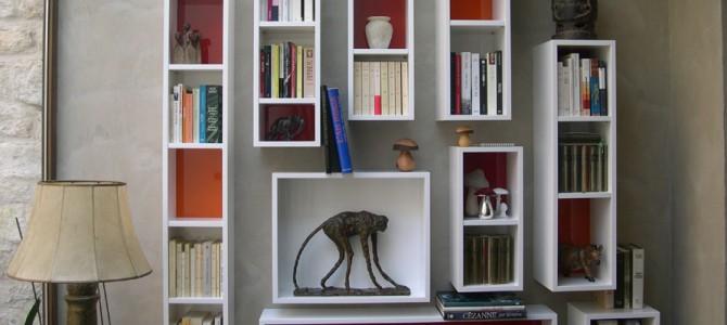 Bibliothèque laque