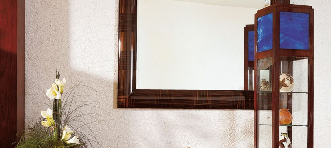 Colonne vitrine