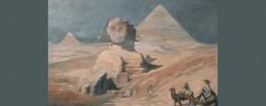 Adrien Recouvreur «Par une nuit de lune en Egypte»