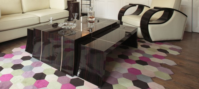 Macassar & Sycamore Coffee table