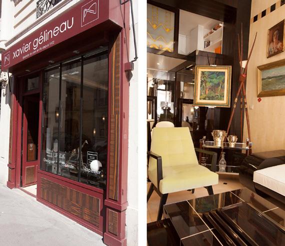 Le showroom à Paris