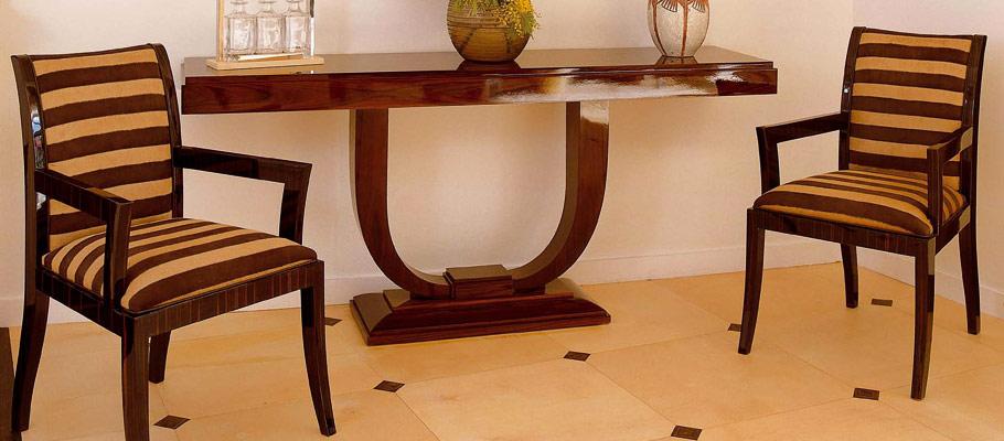 fauteuil bridge 501 mobilier art d co paris agencement xavier g lineau. Black Bedroom Furniture Sets. Home Design Ideas
