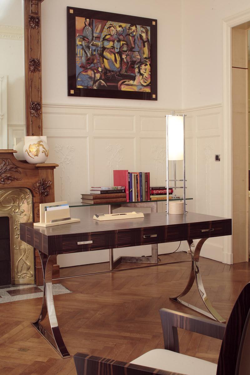 bureau germain mobilier art d co paris agencement xavier g lineau. Black Bedroom Furniture Sets. Home Design Ideas