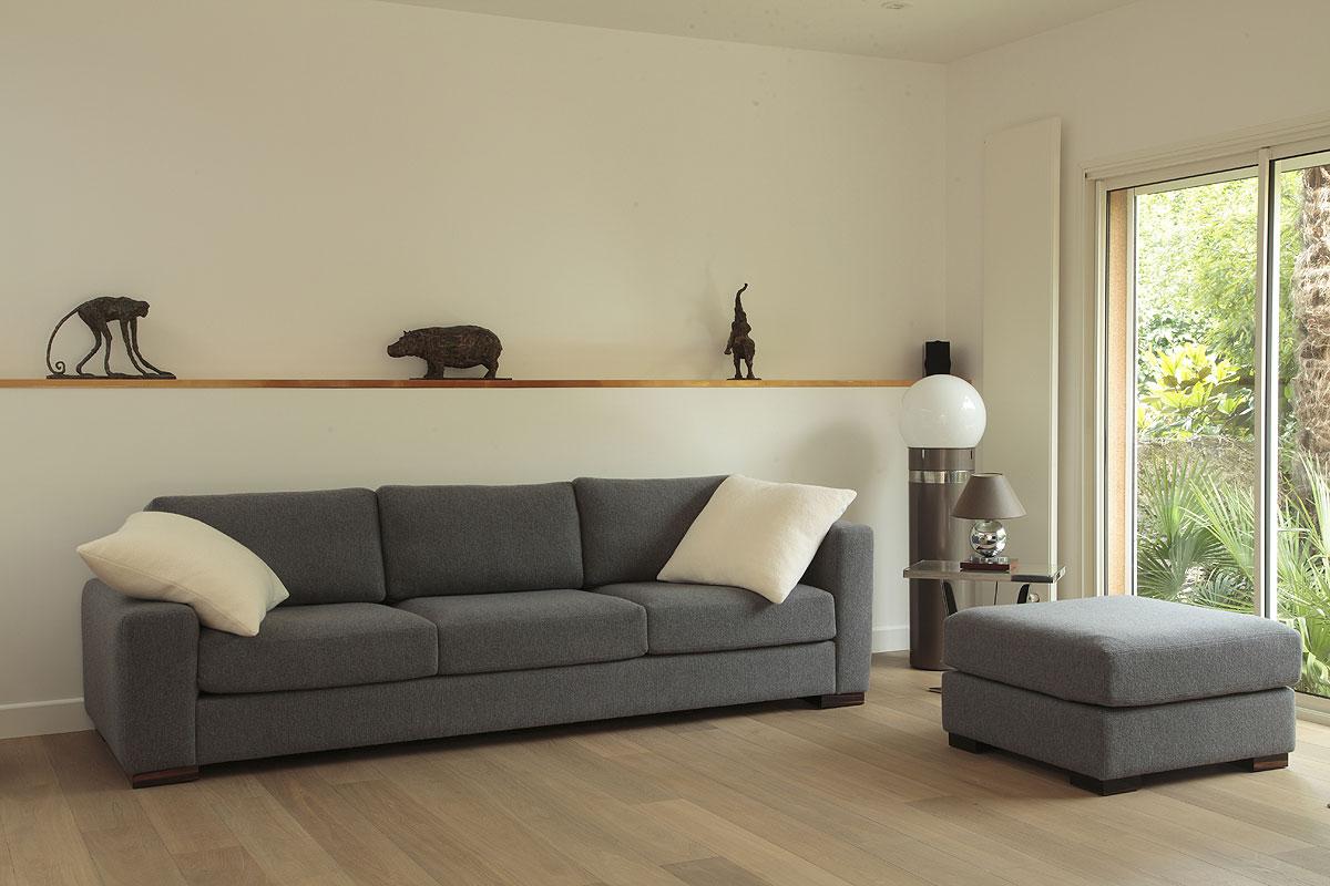 Canap jos phine mobilier art d co paris agencement for Mobilier canape