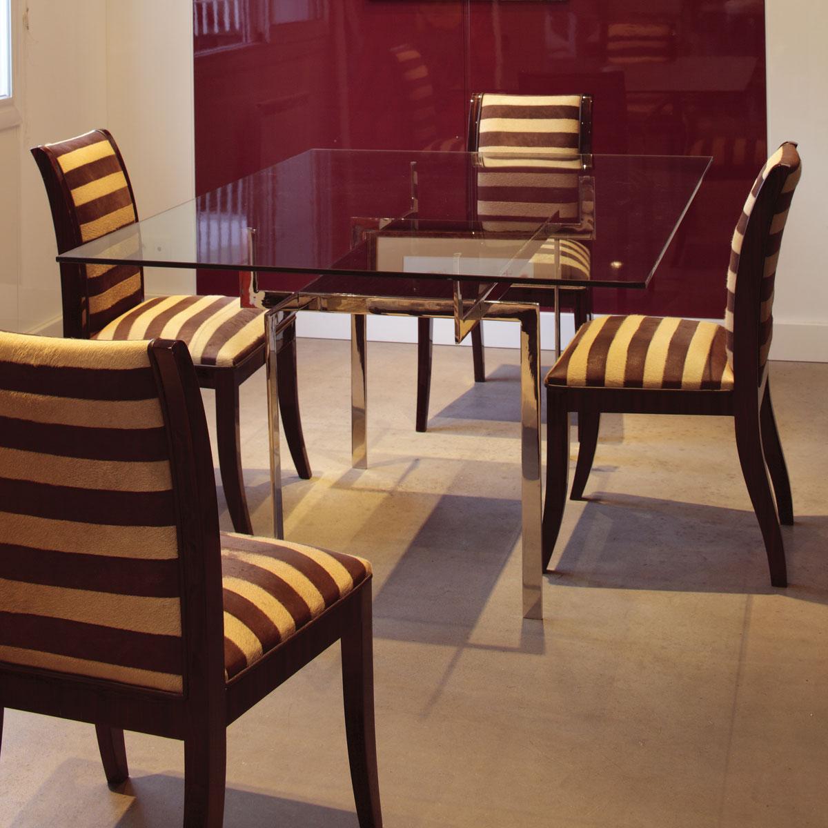 chaise 501 mobilier art d co paris agencement xavier g lineau. Black Bedroom Furniture Sets. Home Design Ideas