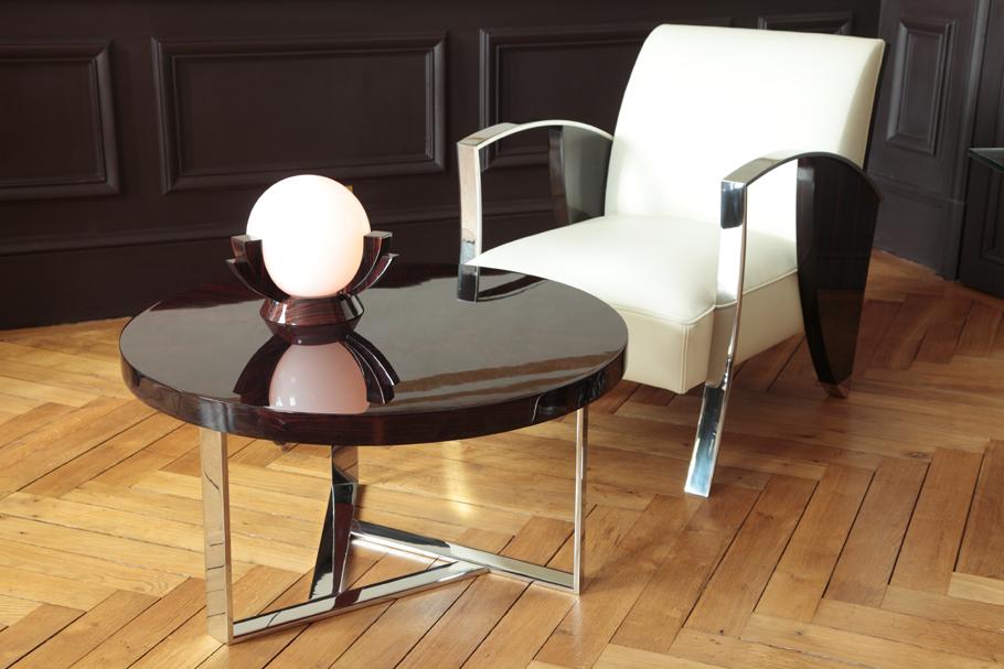 fauteuil garance mobilier art d co paris agencement xavier g lineau. Black Bedroom Furniture Sets. Home Design Ideas