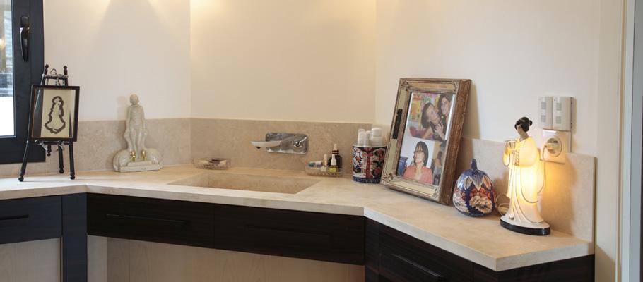 Salle de bain mobilier art d co paris agencement for Salle de bain xavier laurent