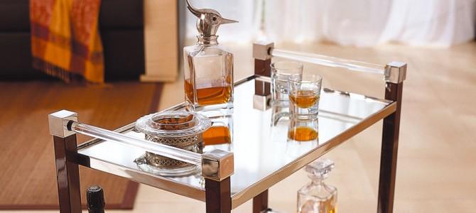 table roulante mobilier art d co paris agencement xavier g lineau. Black Bedroom Furniture Sets. Home Design Ideas