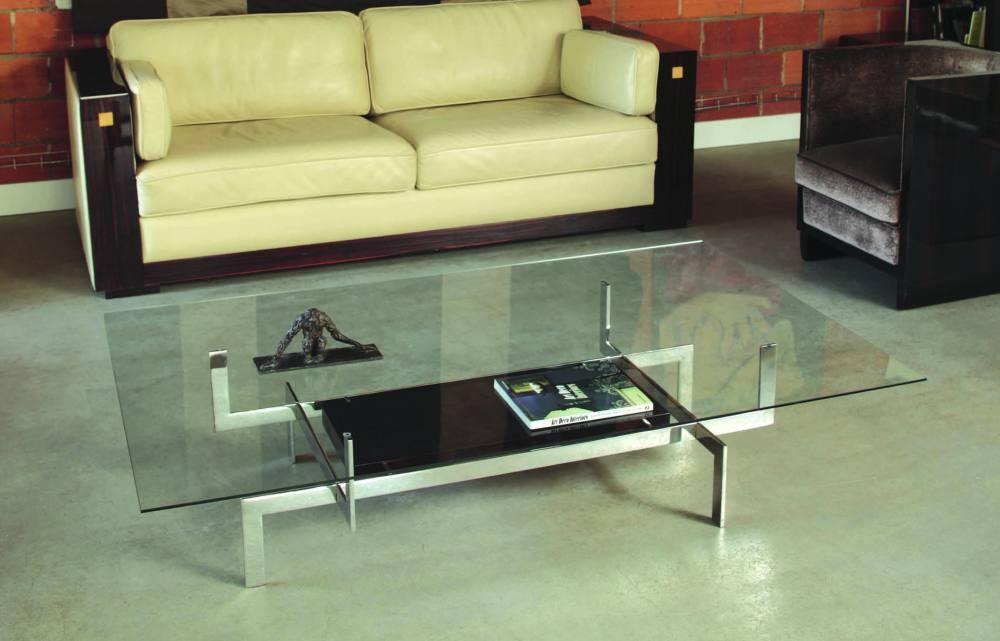 table basse paula mobilier art d co paris agencement xavier g lineau. Black Bedroom Furniture Sets. Home Design Ideas