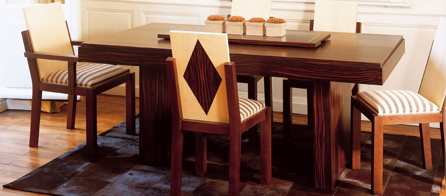 chaise cigogne mobilier art d co paris agencement xavier g lineau. Black Bedroom Furniture Sets. Home Design Ideas
