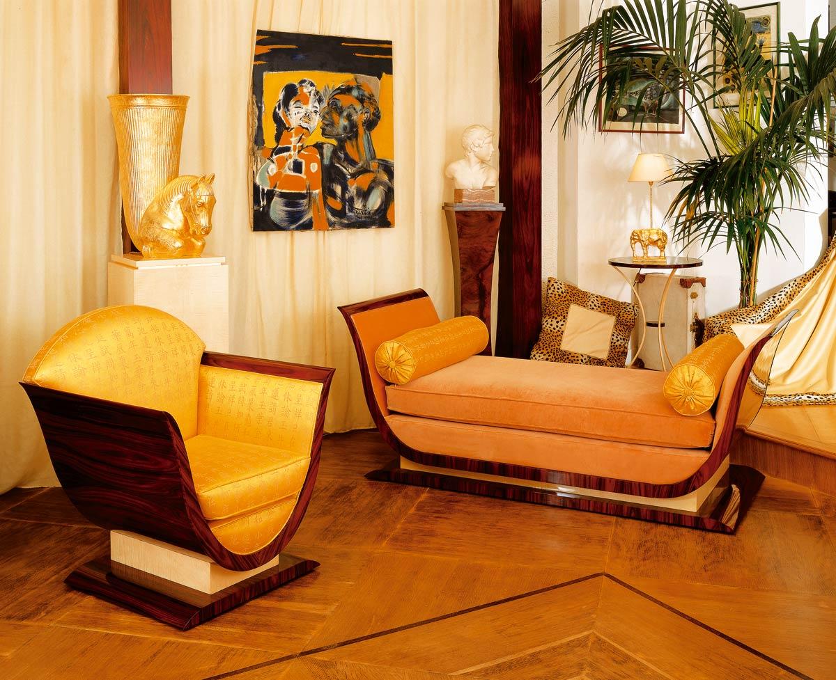 m ridienne lyre mobilier art d co paris agencement xavier g lineau. Black Bedroom Furniture Sets. Home Design Ideas