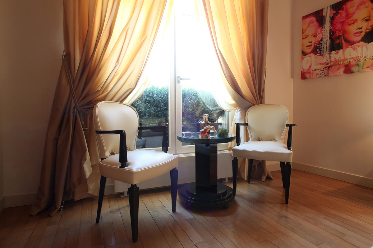 appartement mobilier art d co paris agencement xavier g lineau. Black Bedroom Furniture Sets. Home Design Ideas