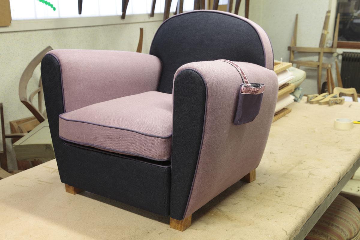 fauteuil club enfant mobilier art d co paris agencement xavier g lineau. Black Bedroom Furniture Sets. Home Design Ideas