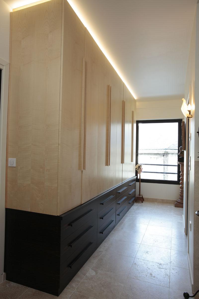 dressing mobilier art d co paris agencement xavier g lineau. Black Bedroom Furniture Sets. Home Design Ideas