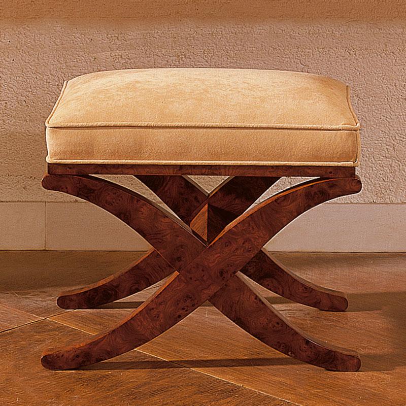 pouf ruhlmann mobilier art d co paris agencement xavier g lineau. Black Bedroom Furniture Sets. Home Design Ideas